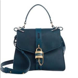 Chloe Aby Medium Leather Shoulder Bag